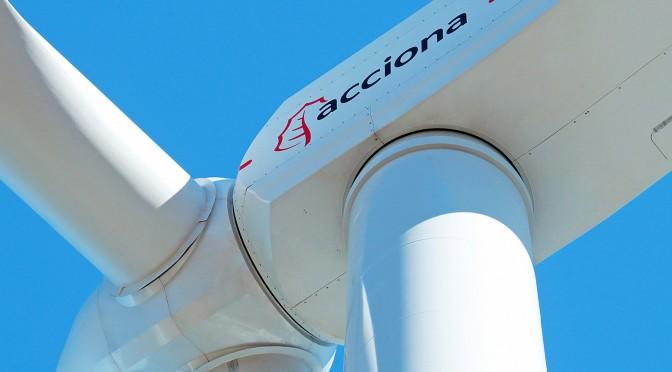Eólica en Norteamérica: Acciona Windpower suministra 800 megavatios de aerogeneradores