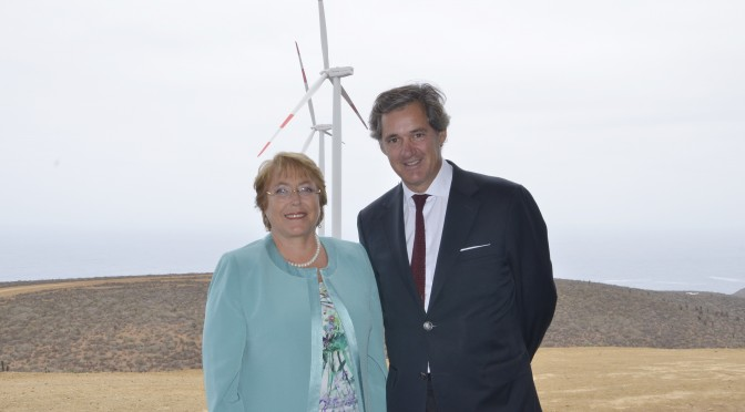 Energías renovables en Chile: 2.773 MW de eólica, termosolar y energía solar fotovoltaica