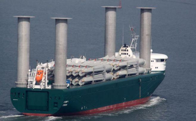 Las turbinas eólicas impulsarán la cooperación internacional en el Mar Meridional de China