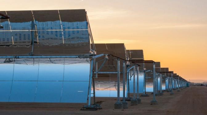 Termosolar Mojave, con 280 MW, de Abengoa, ya funciona en California, en Estados Unidos