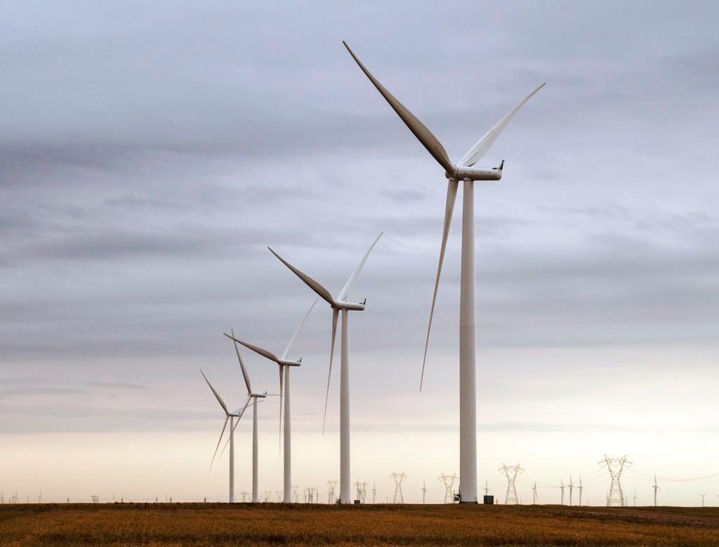 21 Windturbinen für den Windpark Alexander in Kansas / 21 wind turbines for Alexander wind project in Kansas