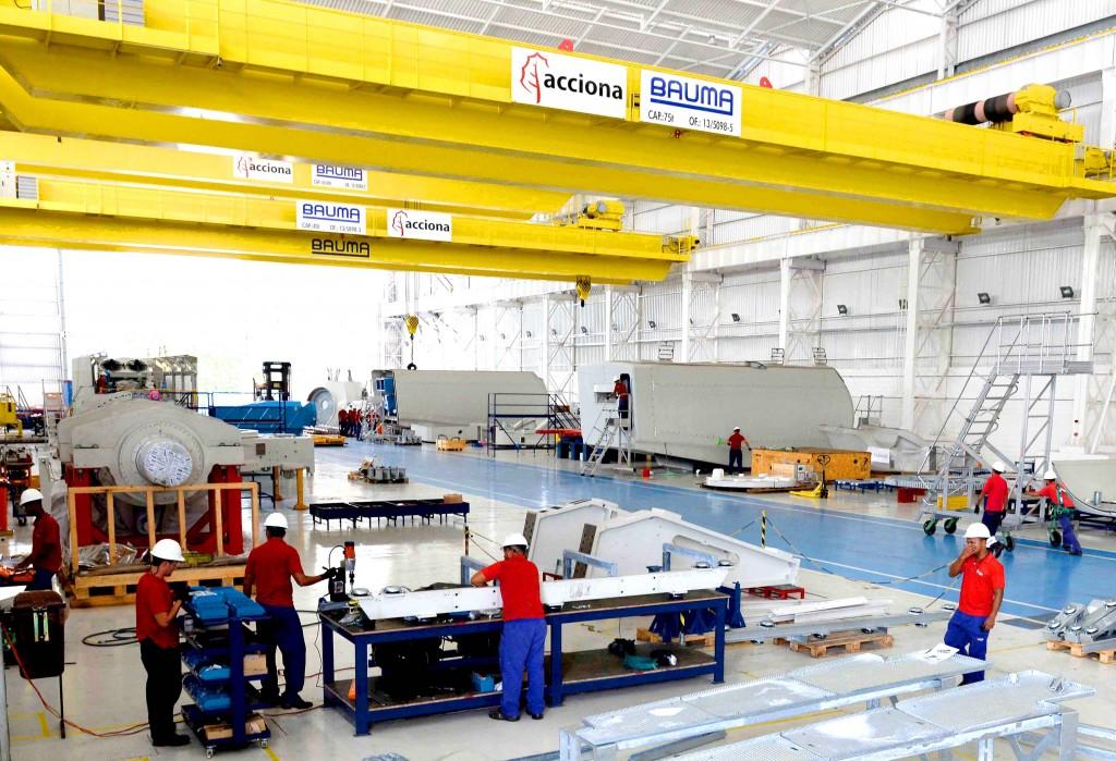 Eólica en Brasil: Acciona suministra 195 megavatios y 65 aerogeneradores en Piauí.