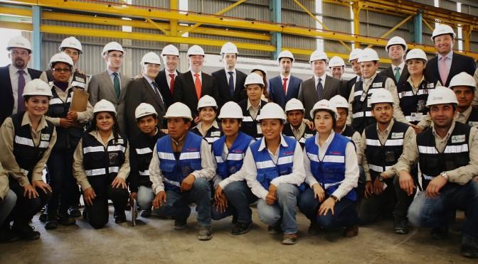 Eólica y energías renovables en México: Acciona Windpower inaugura planta de torres eólicas.
