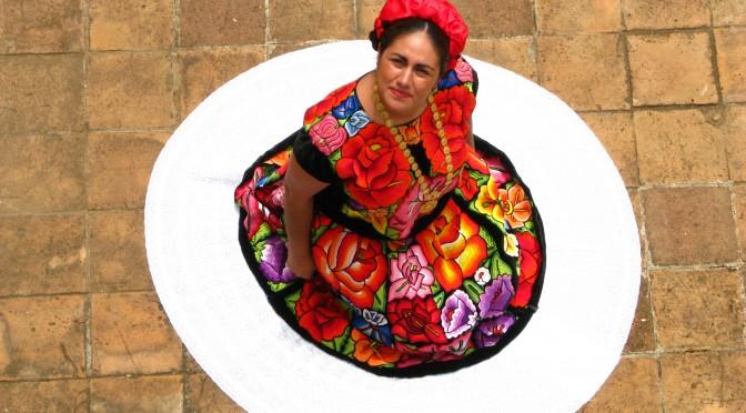 FOTO 3_Bordado típico Oaxaca