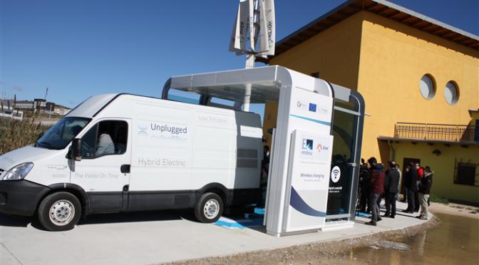 La carga por inducción de vehículo eléctrico ya está más cerca