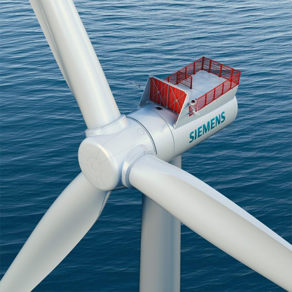 Eólica marina: Siemens aumenta la potencia de los aerogeneradores offshore de accionamiento directo