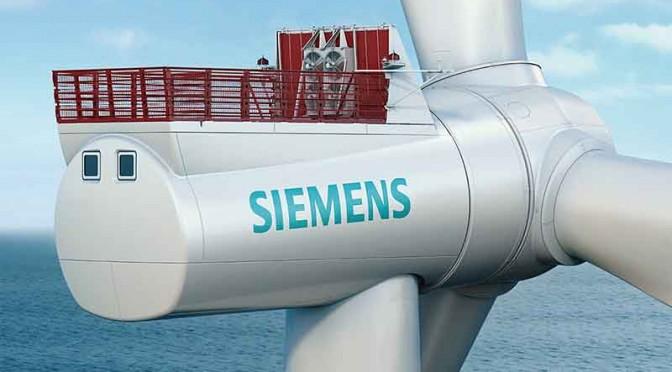 Eólica marina: Siemens inicia la construcción de aerogeneradores en Alemania