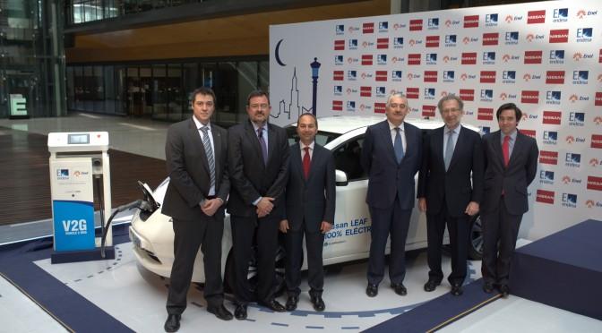 Endesa y Nissan se alían para impulsar los vehículos eléctricos
