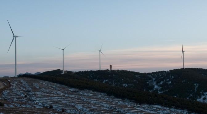 China promueve energía eólica para calefacción invernal en norte del país