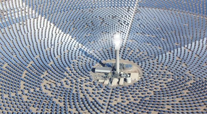 Premio Edison a la Termosolar SolarReserve por sus innovaciones