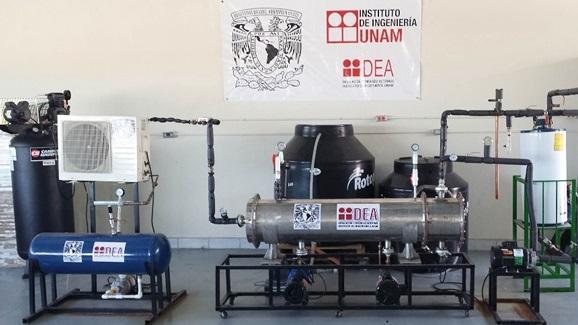 desalinizadora con energía geotérmica