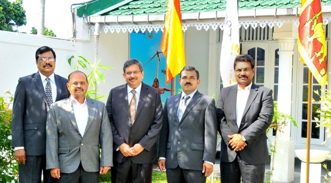 Gamesa inaugura oficina comercial en Sri Lanka