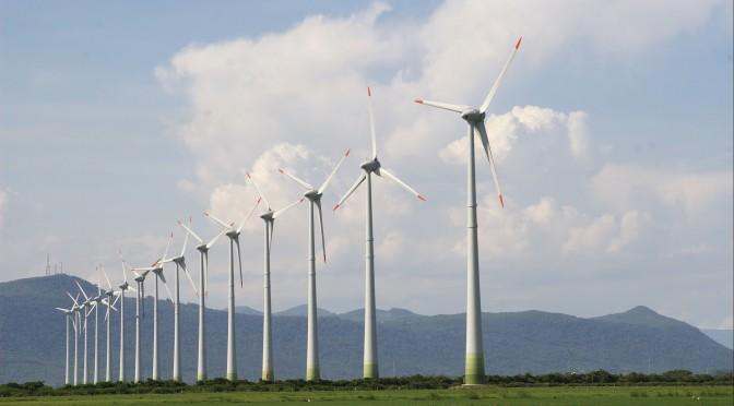 Energía eólica de Brasil entre los 10 primeros países