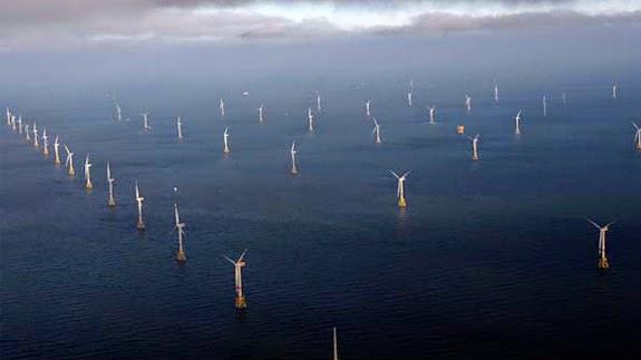 Parque eólico de Whitelee, en Escocia: ¿nuevos aires para la eólica?