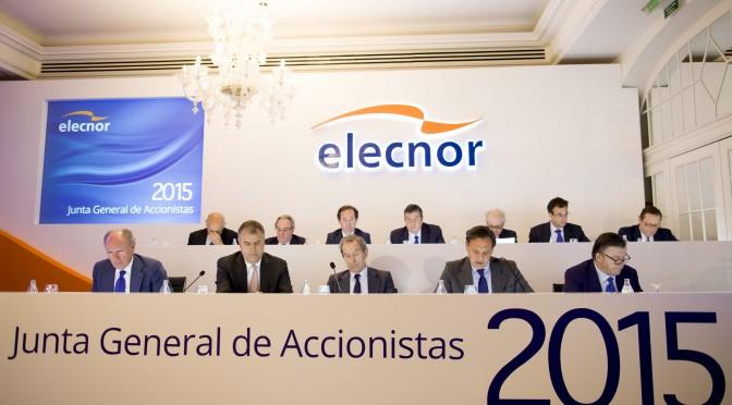 Elecnor amplía plazo de su financiación sindicada