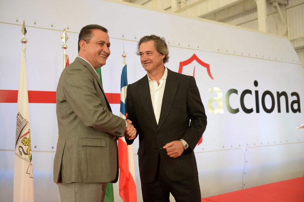 Eólica en Brasil: Acciona inaugura su planta de aerogeneradores en Bahía