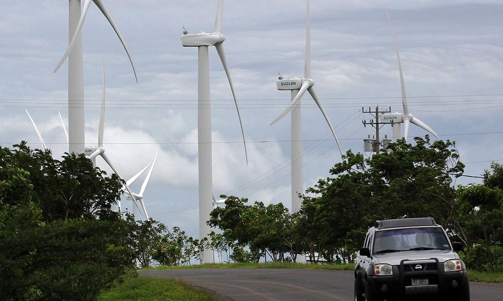 nicaragua eólica wind power