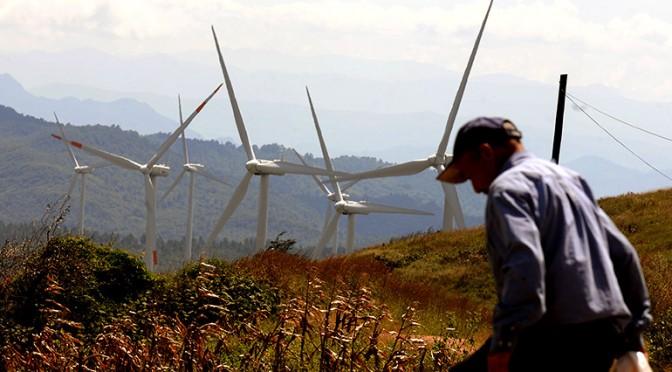 Eólica en Honduras: parque eólico Cerro de Hula