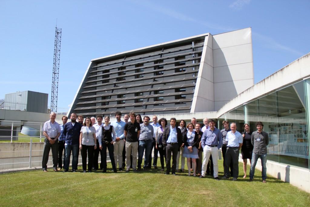 Foto inicio del proyecto CAPTURE en CENER