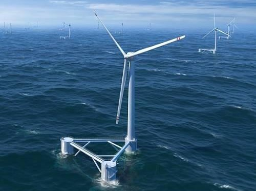 Eólica marina: Desarrollan aerogeneradores flotantes para aprovechar energías renovables marinas