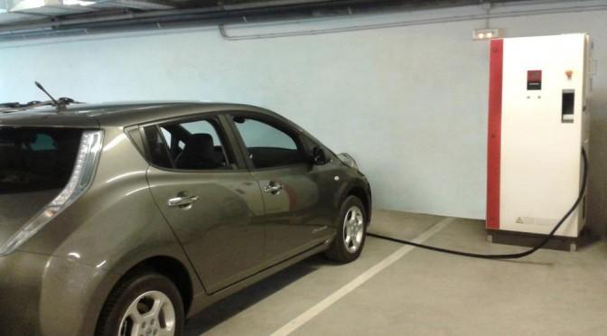 Estaciones de recarga rápida made in Euskadi para coches eléctricos