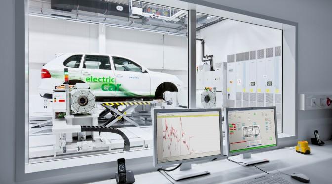 Coche eléctrico: Siemens promueve los vehículos eléctricos
