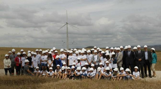 Eólica celebró el Día del Viento en parques eólicos de Acciona