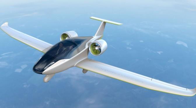 Avión eléctrico cruza el Canal de la Mancha
