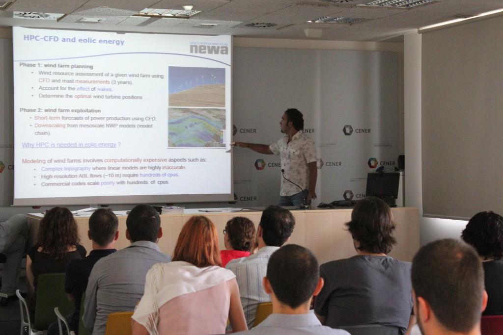 Foto reunión proyecto NEWA en CENER