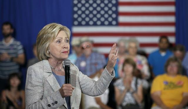 Hillary Clinton promete que será la presidenta de las energías renovables