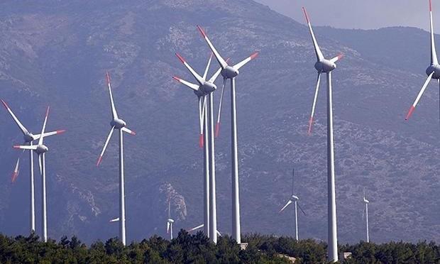 Eólica en México: parque eólico en Mazapil