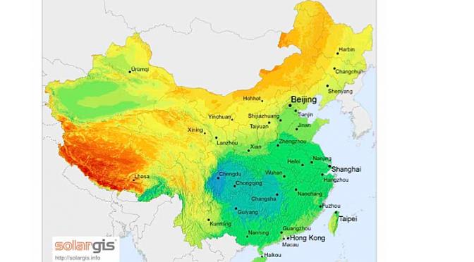 Nuevo proyecto de termosolar en China, en Shanxi, con 100 MW