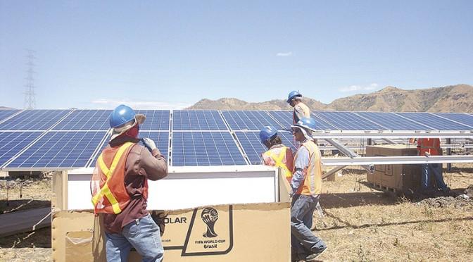 Honduras conecta central fotovoltaica de 61,5 megavatios
