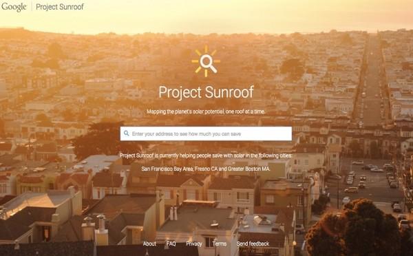 Google anuncia un proyecto para impulsar la energía solar