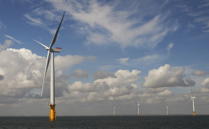 EDPR firma un MoU con CTG sobre energía eólica marina en el Reino Unido