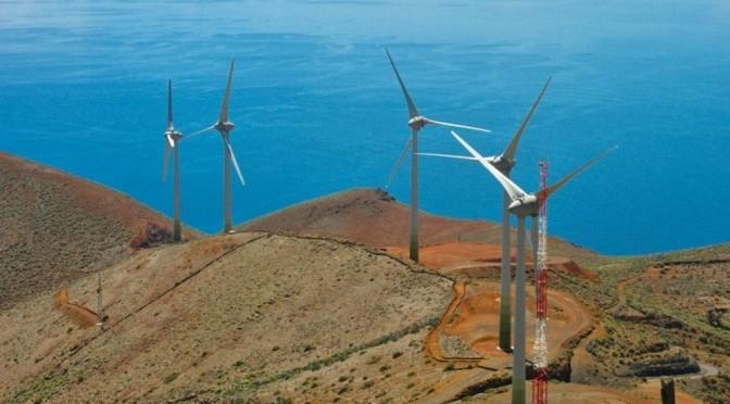 Eólica en Canarias: proponen 18 proyectos de parques eólicos