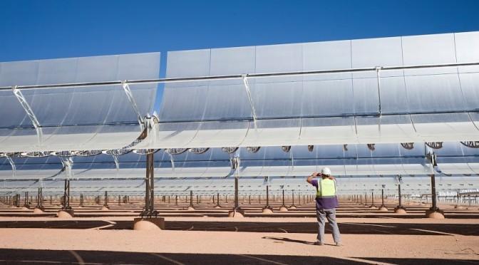 Marruecos construye la mayor termosolar