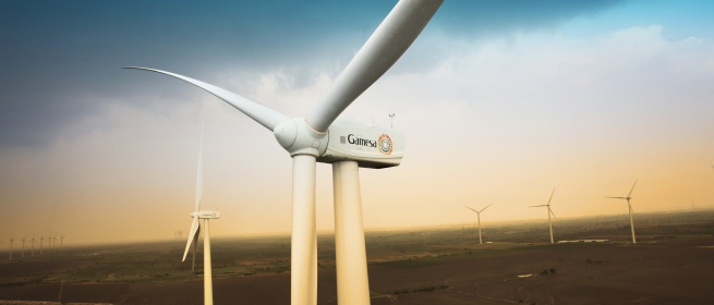 Eólica en India: Gamesa suministra 50 aerogeneradores a parque eólico de Hero Future Energies