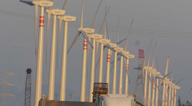 Eólica en México ofrece potencia a CFE