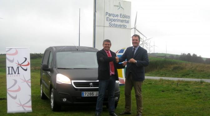 Mantenimiento eólico con vehículo eléctrico