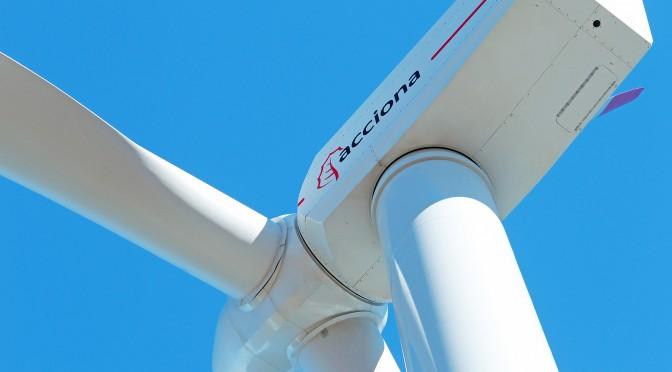 Acciona firma un acuerdo con la estadounidense Sentient para prolongar la vida útil de sus aerogeneradores
