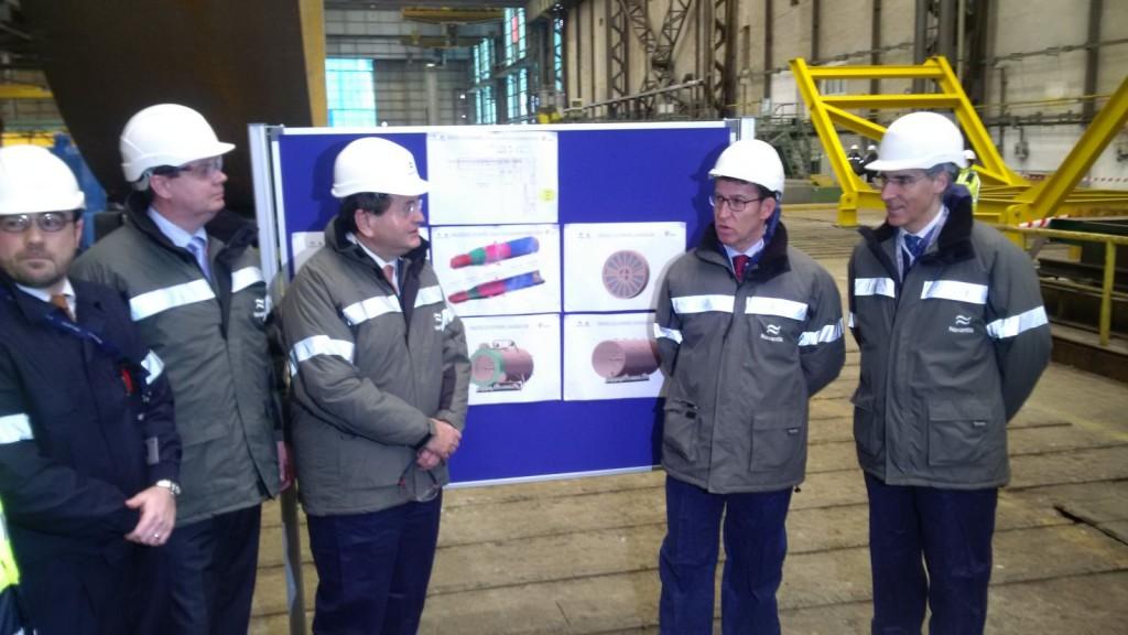 NAVANTIA ya fabrica para el parque eólico Hywind