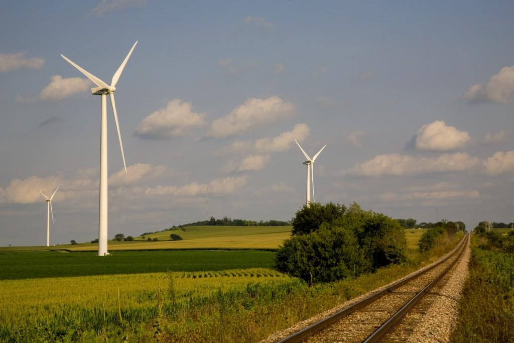 ACCIONA wind farm in the US