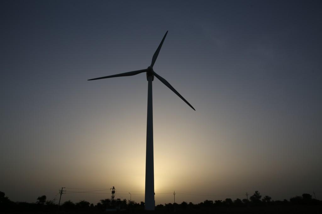 Parque eólico de Gamesa en India