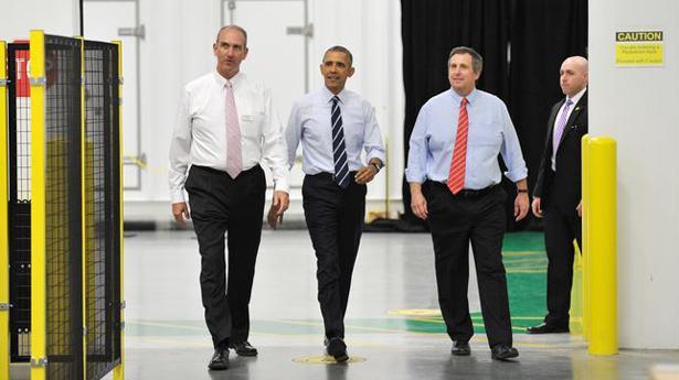 Obama visita la fábrica de baterías de litio-ión de Saft