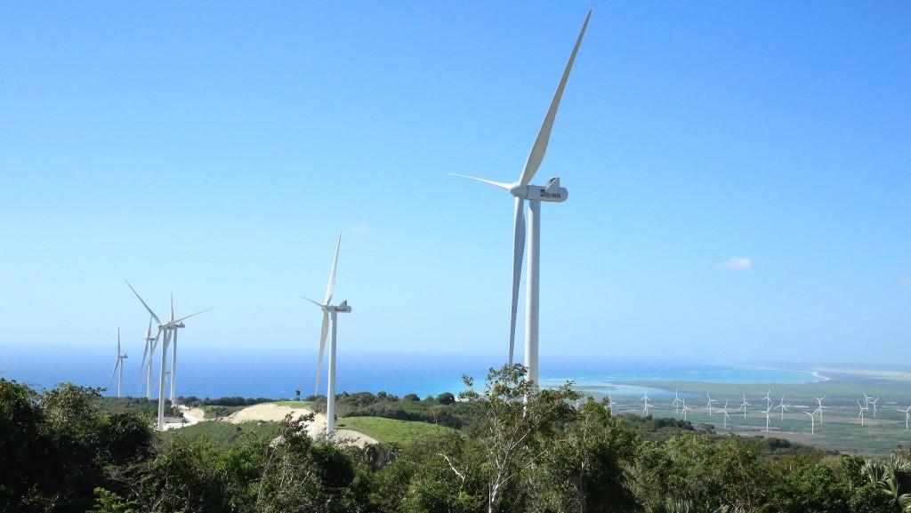 dominicana parque eólico Larimar