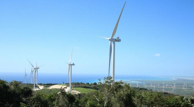 Eólica en República Dominicana: parque eólico Larimar con aerogeneradores de Vestas