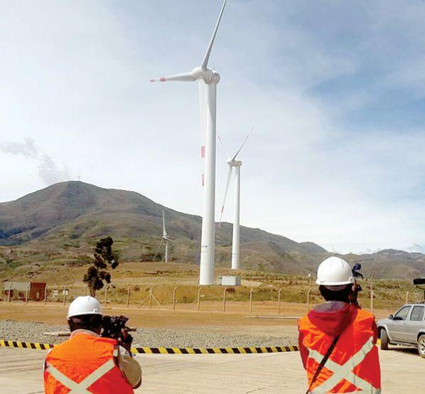 Eólica en Bolivia