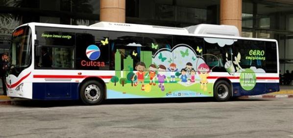 Transporte público de Uruguay tendrá primer autobús eléctrico
