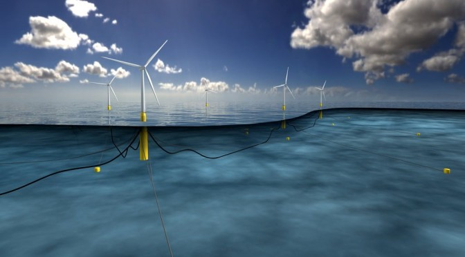CGN gana contrato de energía eólica flotante en Francia